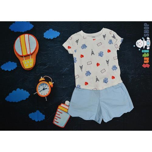 SET QUẦN ÁO BÉ GÁI DẠO PHỐ MÙA HÈ|Set quần áo bé gái