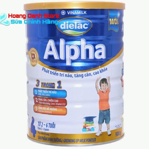 Sữa Bột Vinamilk Dielac Alpha 4 900g