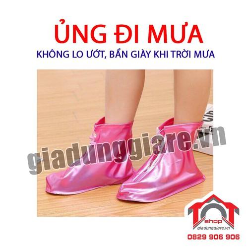 Ủng đi mưa bảo vệ giầy cổ ngắn đế chống trơn - TOT Shop - 7482308 , 17190878 , 15_17190878 , 40000 , Ung-di-mua-bao-ve-giay-co-ngan-de-chong-tron-TOT-Shop-15_17190878 , sendo.vn , Ủng đi mưa bảo vệ giầy cổ ngắn đế chống trơn - TOT Shop