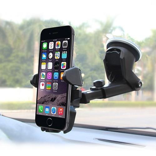 Đế hít điện thoại xe hơi 360 độ kéo dài, thu gọn lại được