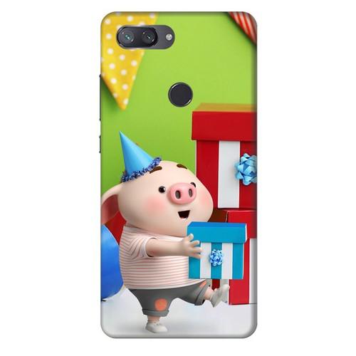 Ốp lưng nhựa cứng nhám dành cho Xiaomi Mi 8 Lite in hình Heo Con Mừng Sinh Nhật - 11207275 , 17204955 , 15_17204955 , 99000 , Op-lung-nhua-cung-nham-danh-cho-Xiaomi-Mi-8-Lite-in-hinh-Heo-Con-Mung-Sinh-Nhat-15_17204955 , sendo.vn , Ốp lưng nhựa cứng nhám dành cho Xiaomi Mi 8 Lite in hình Heo Con Mừng Sinh Nhật