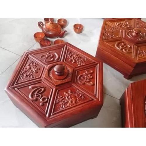 Khay đựng bánh mứt kẹo phúc lộc thọ ,gỗ hương ĐK 30 cm -shop đồ gỗ Nhân Ái - 7468567 , 17184664 , 15_17184664 , 380000 , Khay-dung-banh-mut-keo-phuc-loc-tho-go-huong-DK-30-cm-shop-do-go-Nhan-Ai-15_17184664 , sendo.vn , Khay đựng bánh mứt kẹo phúc lộc thọ ,gỗ hương ĐK 30 cm -shop đồ gỗ Nhân Ái