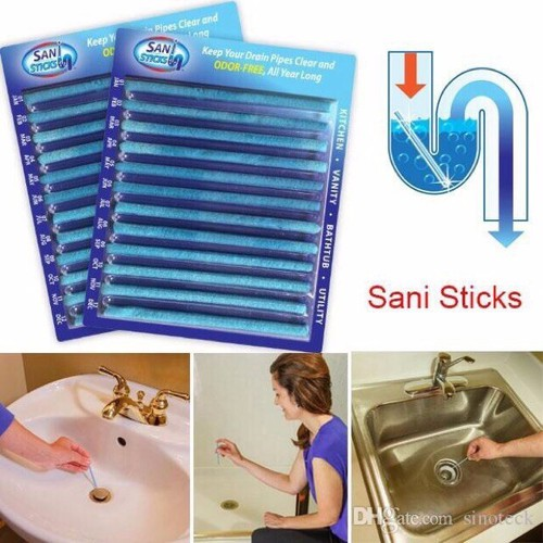 Set 24 Que thông tắc cống siêu tốc Smart Sani Sticks - 7498352 , 17198247 , 15_17198247 , 59000 , Set-24-Que-thong-tac-cong-sieu-toc-Smart-Sani-Sticks-15_17198247 , sendo.vn , Set 24 Que thông tắc cống siêu tốc Smart Sani Sticks