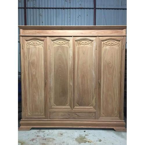 Tủ 4 buồng gỗ gõ