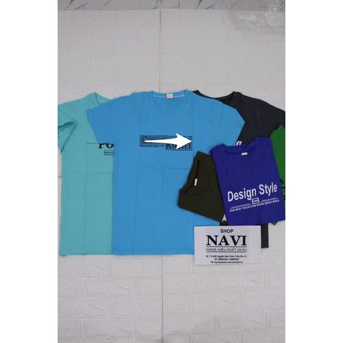 Combo Bộ 6 áo thun nam Cổ Tròn Cotton Giao 6 màu ngẫu nhiên