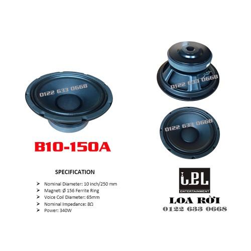 Loa bass rời IPL B10-150A- Bass 25 phi 156 C65 XN- 340W- Giá bán 1 cái - 11324046 , 17213208 , 15_17213208 , 328000 , Loa-bass-roi-IPL-B10-150A-Bass-25-phi-156-C65-XN-340W-Gia-ban-1-cai-15_17213208 , sendo.vn , Loa bass rời IPL B10-150A- Bass 25 phi 156 C65 XN- 340W- Giá bán 1 cái