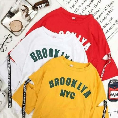 Áo phông nữ - Áo thun nữ - Áo rẻ đẹp - Áo rách tay- Áo NYC