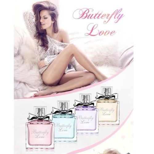 Nước hoa Maycreate 50ml Butterfly Love Xanh