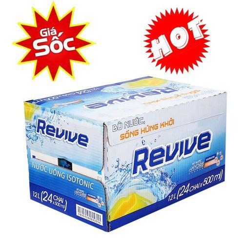 Revive Thùng 24 Chai x 500 ml giá siêu rẻ
