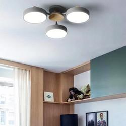 Đèn trần - đèn ốp trần - đèn chùm trang trí nội thất hiện đại MACARON
