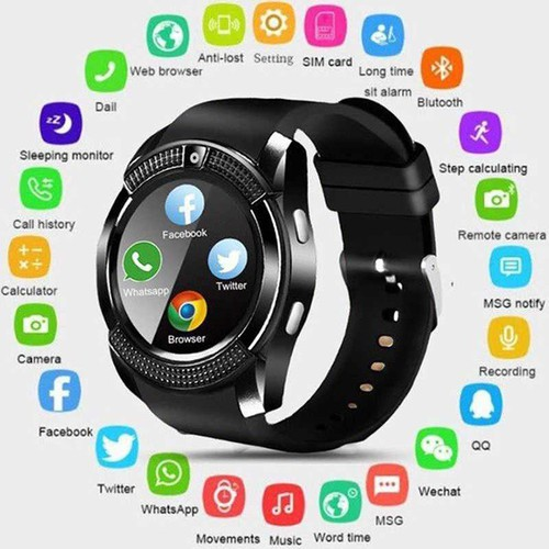 Đồng hồ thông minh Smart Watch v8 Cao cấp có Tiếng Việt - Nghe gọi 2 chiều, nghe nhạc, theo dõi sức khỏe, Đồng hồ thông minh trẻ em, Đồng hồ thông minh giá rẻ - Vòng tay thông minh, Vòng theo dõi vận  - 4825354 , 17224507 , 15_17224507 , 369000 , Dong-ho-thong-minh-Smart-Watch-v8-Cao-cap-co-Tieng-Viet-Nghe-goi-2-chieu-nghe-nhac-theo-doi-suc-khoe-Dong-ho-thong-minh-tre-em-Dong-ho-thong-minh-gia-re-Vong-tay-thong-minh-Vong-theo-doi-van-dong-15_1722450