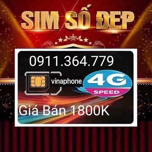 sim 10 số vinaphone 0911-364-779