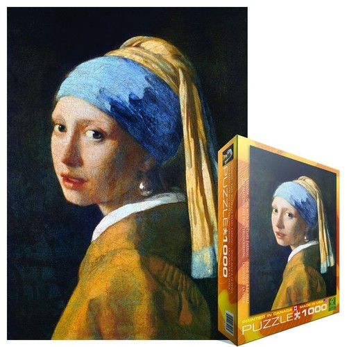 Tranh xếp hình | Puzzle Girl with A Pearl Earring by Vermeer - 11440788 , 17215155 , 15_17215155 , 800000 , Tranh-xep-hinh-Puzzle-Girl-with-A-Pearl-Earring-by-Vermeer-15_17215155 , sendo.vn , Tranh xếp hình | Puzzle Girl with A Pearl Earring by Vermeer