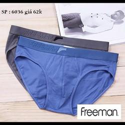 Quần lót nam dệt kim cao cấp siêu co giãn siêu mịn và nhẹ – Freeman 6017
