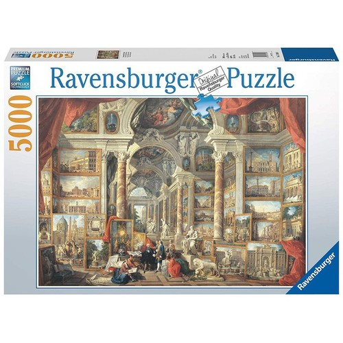 Tranh xếp hình | Tranh ghép hình puzzle Ravensburger Views of Modern Rome