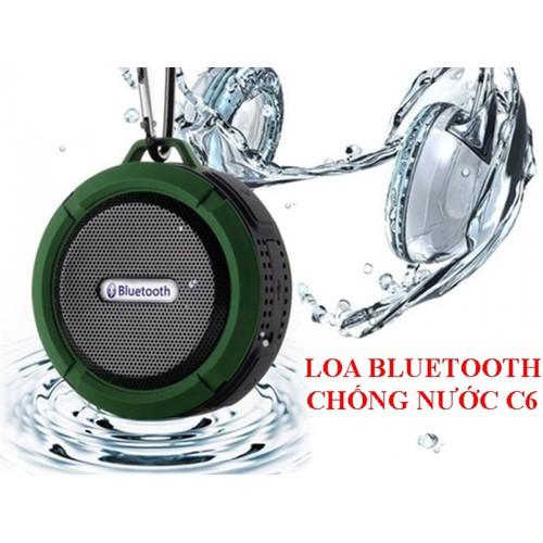 [SIÊU SALE] Loa Bluetooth C6 Kháng Nước Chống Va Đập Âm Thanh Cực Hay