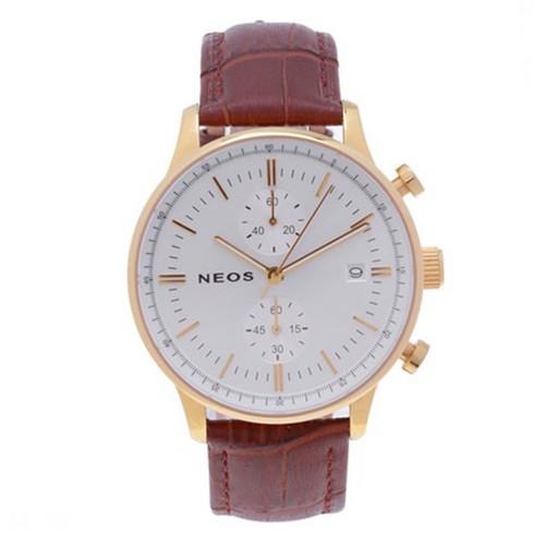 Đồng Hồ Nam Dây Da Neos N-50551M Sapphire Chính Hãng