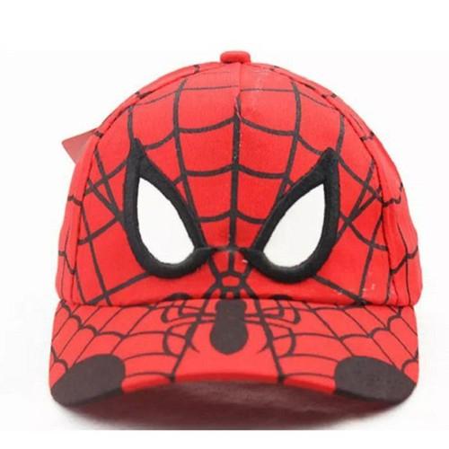 Mũ lưỡi trai hình siêu nhân người nhện Spider man siêu đẹp dành cho bé
