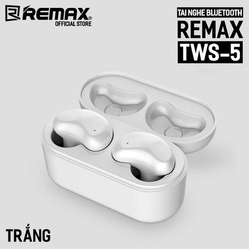 Tai nghe Bluetooth 2 bên Remax TWS-5 kèm dock sạc - 4650250 , 17223287 , 15_17223287 , 899000 , Tai-nghe-Bluetooth-2-ben-Remax-TWS-5-kem-dock-sac-15_17223287 , sendo.vn , Tai nghe Bluetooth 2 bên Remax TWS-5 kèm dock sạc