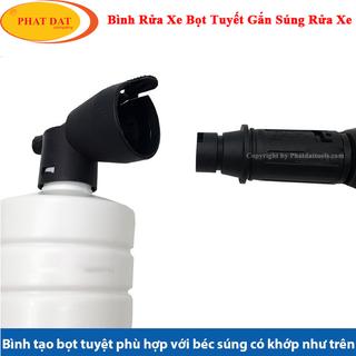Bình Tạo Bọt Tuyết Mini Gắn Súng Xịt Rửa Xe Cao Áp - BMN thumbnail