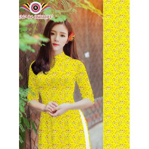 Bộ áo dài truyền thống đẹp hoa nhí in 3D chất lụa co giãn - 4650235 , 17223269 , 15_17223269 , 600000 , Bo-ao-dai-truyen-thong-dep-hoa-nhi-in-3D-chat-lua-co-gian-15_17223269 , sendo.vn , Bộ áo dài truyền thống đẹp hoa nhí in 3D chất lụa co giãn