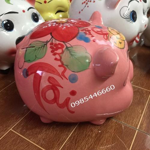 Heo đất bằng sứ dễ thương màu hồng chữ Tài Lộc - 4651821 , 17233815 , 15_17233815 , 150000 , Heo-dat-bang-su-de-thuong-mau-hong-chu-Tai-Loc-15_17233815 , sendo.vn , Heo đất bằng sứ dễ thương màu hồng chữ Tài Lộc