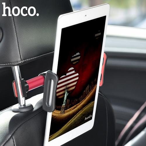 Giá đỡ điện thoại, ipad, máy tính bảng Hoco sau ghế ô tô CA30