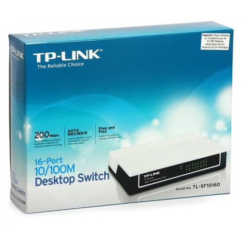 Bộ chia mạng Switch Tp-link TL-SF1016D 16 port 10-100m - 11439827 , 17212673 , 15_17212673 , 450000 , Bo-chia-mang-Switch-Tp-link-TL-SF1016D-16-port-10-100m-15_17212673 , sendo.vn , Bộ chia mạng Switch Tp-link TL-SF1016D 16 port 10-100m