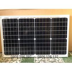 Tấm pin mặt trời mono 40W hiệu suất cao