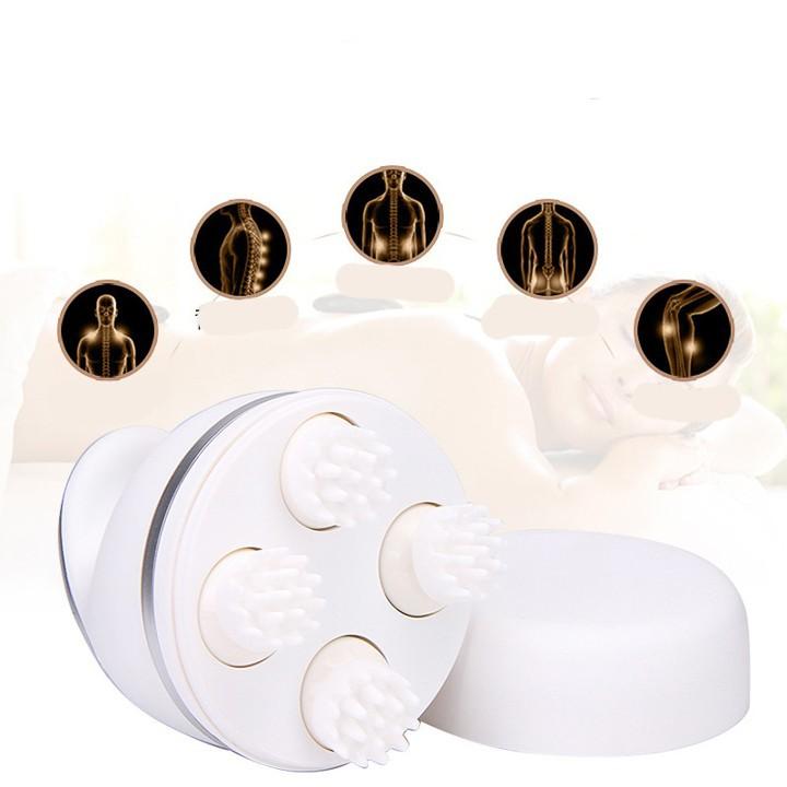 [Chammart] Máy Massage Đầu Mini Cầm Tay B20 – Máy Massage Mini Cầm Tay – Máy Massage Thông Minh Trắng 12