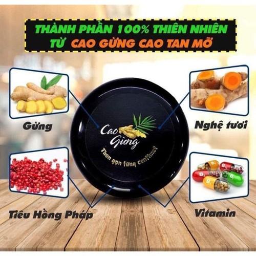 Kem Tan Mỡ Cao Gừng 200g - 4822878 , 17210495 , 15_17210495 , 380000 , Kem-Tan-Mo-Cao-Gung-200g-15_17210495 , sendo.vn , Kem Tan Mỡ Cao Gừng 200g
