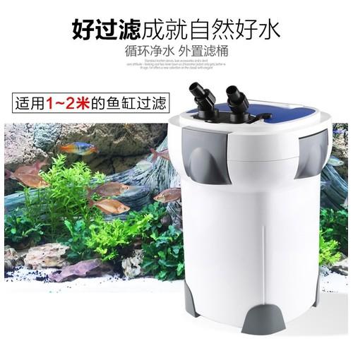 Lọc SunSun Hw3000 công suất 30W có thể tăng giảm công suất, kết hợp đèn UV diệt tảo 9W cho hồ thủy sinh, hồ cá