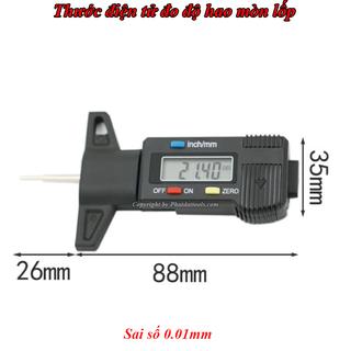 Thước đo độ hao mòn lốp điện tử-Thước đo điện tử - TĐM thumbnail
