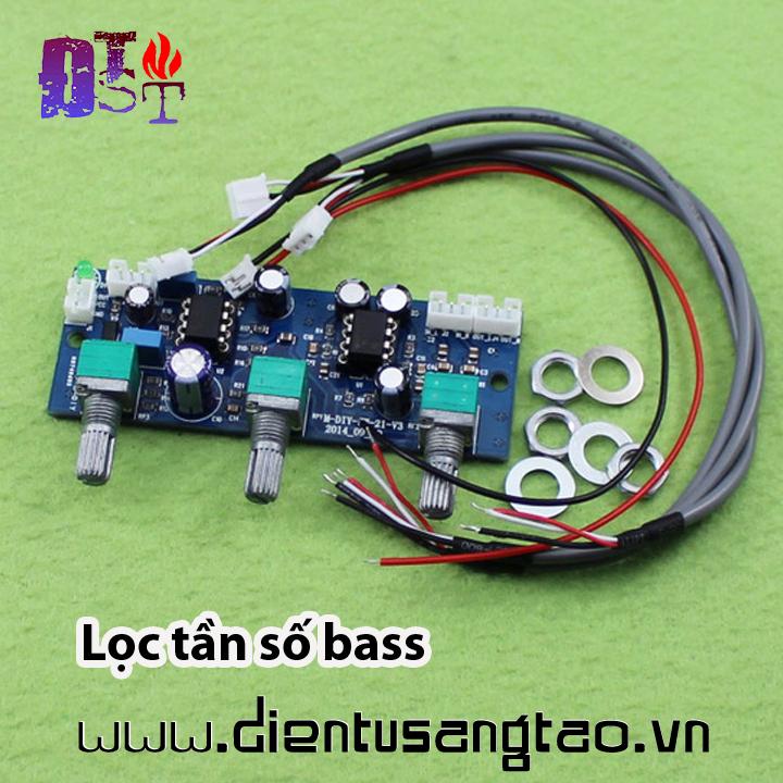 Mạch lọc điều chỉnh tần số bass