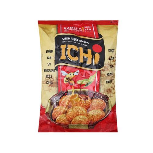 Bánh gạo Nhật vị shouyu mật ong Ichi gói 100g - 4824159 , 17216209 , 15_17216209 , 37500 , Banh-gao-Nhat-vi-shouyu-mat-ong-Ichi-goi-100g-15_17216209 , sendo.vn , Bánh gạo Nhật vị shouyu mật ong Ichi gói 100g