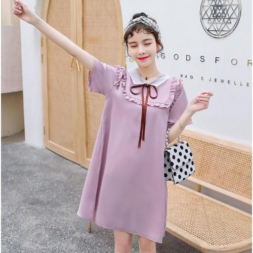 Đầm Bầu: Váy Suông Hồng Cổ Trắng Sen Bèo Xinh Xắn - 11441178 , 17216719 , 15_17216719 , 380000 , Dam-Bau-Vay-Suong-Hong-Co-Trang-Sen-Beo-Xinh-Xan-15_17216719 , sendo.vn , Đầm Bầu: Váy Suông Hồng Cổ Trắng Sen Bèo Xinh Xắn