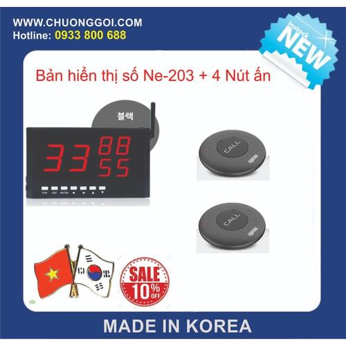Bộ Thiết bị chuông gọi phục vụ Hàn Quốc  +  2 nút bấm - 4649700 , 17220831 , 15_17220831 , 3480000 , Bo-Thiet-bi-chuong-goi-phuc-vu-Han-Quoc-2-nut-bam-15_17220831 , sendo.vn , Bộ Thiết bị chuông gọi phục vụ Hàn Quốc  +  2 nút bấm