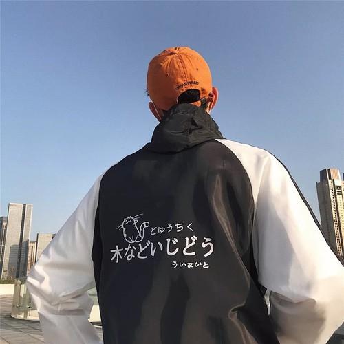 Áo khoác nam nữ đẹp áo ấm áo gió áo khoác dù jacket phối 2 màu in chữ Nhật - 7506929 , 17228559 , 15_17228559 , 99000 , Ao-khoac-nam-nu-dep-ao-am-ao-gio-ao-khoac-du-jacket-phoi-2-mau-in-chu-Nhat-15_17228559 , sendo.vn , Áo khoác nam nữ đẹp áo ấm áo gió áo khoác dù jacket phối 2 màu in chữ Nhật