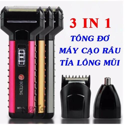 máy cạo râu kiêm cắt tóc tỉa lông mũi - tông đơ - cắt tóc - cạo râu - 4824174 , 17216227 , 15_17216227 , 200000 , may-cao-rau-kiem-cat-toc-tia-long-mui-tong-do-cat-toc-cao-rau-15_17216227 , sendo.vn , máy cạo râu kiêm cắt tóc tỉa lông mũi - tông đơ - cắt tóc - cạo râu
