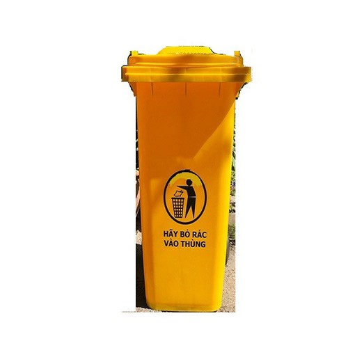 Thùng rác nhựa 240L màu vàng - 11441358 , 17217712 , 15_17217712 , 1300000 , Thung-rac-nhua-240L-mau-vang-15_17217712 , sendo.vn , Thùng rác nhựa 240L màu vàng