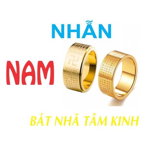 Nhẫn Nam Bát Nhã Tâm Kinh - phong thủy - trừ tà - xoay - 4655076 , 17257173 , 15_17257173 , 250000 , Nhan-Nam-Bat-Nha-Tam-Kinh-phong-thuy-tru-ta-xoay-15_17257173 , sendo.vn , Nhẫn Nam Bát Nhã Tâm Kinh - phong thủy - trừ tà - xoay