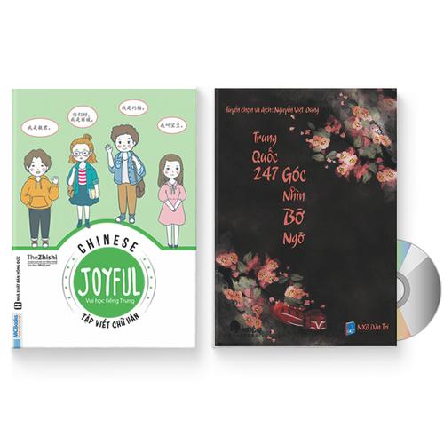 Combo 2 sách: Joyful Chinese – Vui học tiếng Trung – Tập viết chữ Hán + Trung Quốc 247 – Góc nhìn Bỡ Ngỡ + DVD quà tặng - 11452550 , 17245403 , 15_17245403 , 229000 , Combo-2-sach-Joyful-Chinese-Vui-hoc-tieng-Trung-Tap-viet-chu-Han-Trung-Quoc-247-Goc-nhin-Bo-Ngo-DVD-qua-tang-15_17245403 , sendo.vn , Combo 2 sách: Joyful Chinese – Vui học tiếng Trung – Tập viết chữ Hán +