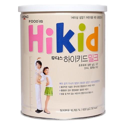 Sữa Hikid tăng chiều cao hộp 600g vị vani Hàn Quốc - 11453355 , 17247531 , 15_17247531 , 650000 , Sua-Hikid-tang-chieu-cao-hop-600g-vi-vani-Han-Quoc-15_17247531 , sendo.vn , Sữa Hikid tăng chiều cao hộp 600g vị vani Hàn Quốc