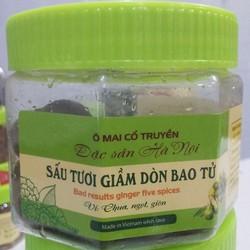 Sấu bao tử dầm giòn - Món ngon - Đặc sản Hà nội -ăn là nghiền