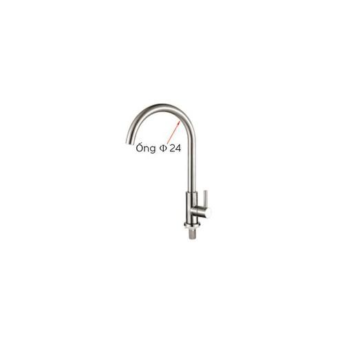 Vòi rửa chén lạnh 304 - ống 24