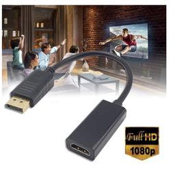 Cáp Chuyển Đổi DP Sang HDMI 1080P- Loại 1