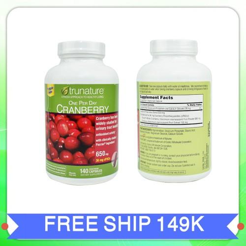 Viên uống trunature cranberry hỗ trợ đường tiết niệu|vien uong trunate cranberry xuất xứ Mỹ 140 viên - 7900043 , 17252588 , 15_17252588 , 725000 , Vien-uong-trunature-cranberry-ho-tro-duong-tiet-nieuvien-uong-trunate-cranberry-xuat-xu-My-140-vien-15_17252588 , sendo.vn , Viên uống trunature cranberry hỗ trợ đường tiết niệu|vien uong trunate cranberry