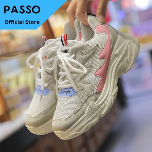 Giày Thể Thao Sneaker Nữ PASSO G222 - 11414414 , 17252142 , 15_17252142 , 350000 , Giay-The-Thao-Sneaker-Nu-PASSO-G222-15_17252142 , sendo.vn , Giày Thể Thao Sneaker Nữ PASSO G222