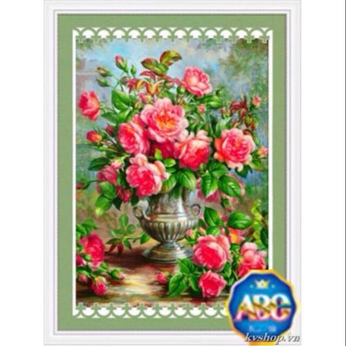 tranh đính đá hoa hồng 63-85cm - 7651448 , 17255466 , 15_17255466 , 289000 , tranh-dinh-da-hoa-hong-63-85cm-15_17255466 , sendo.vn , tranh đính đá hoa hồng 63-85cm