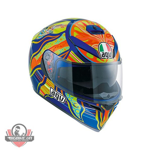 MŨ BẢO HIỂM AGV K-3 SV FIVE CONTINENTS ASIAN FIT
